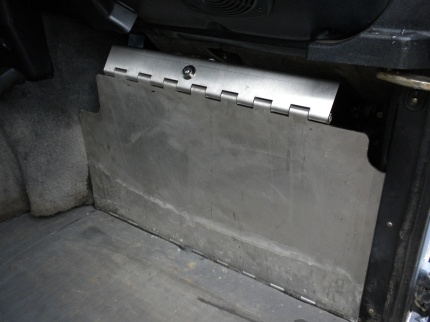 X-Eng pedal lock in locked position