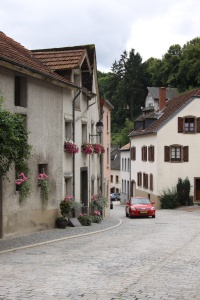 The main road through Vianden