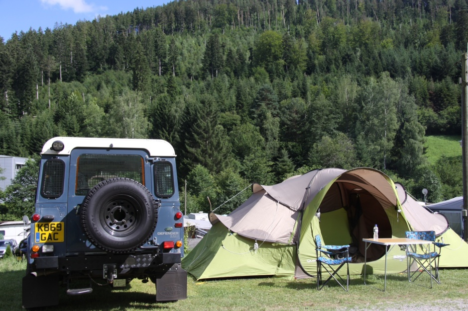 At Camping Kleinenzhof, Black Forest, Germany