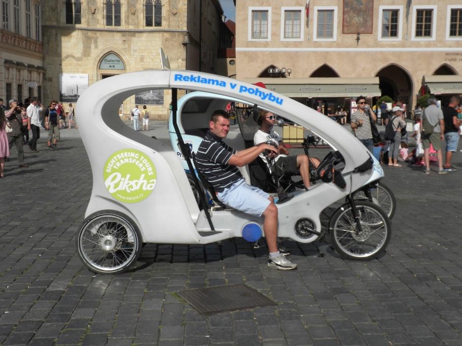 Cycle rickshaw