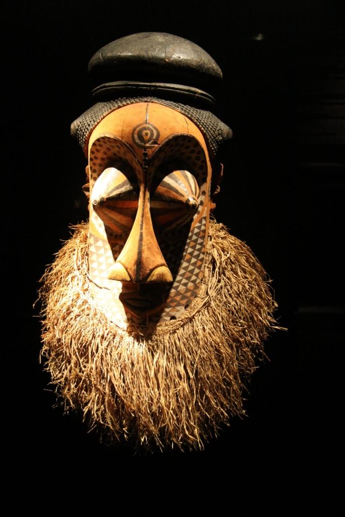 Mask in Berlin museum
