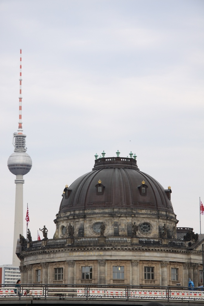 The Bode Museum with TV Tower