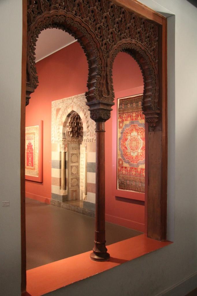 Part of the Islamic exhibit