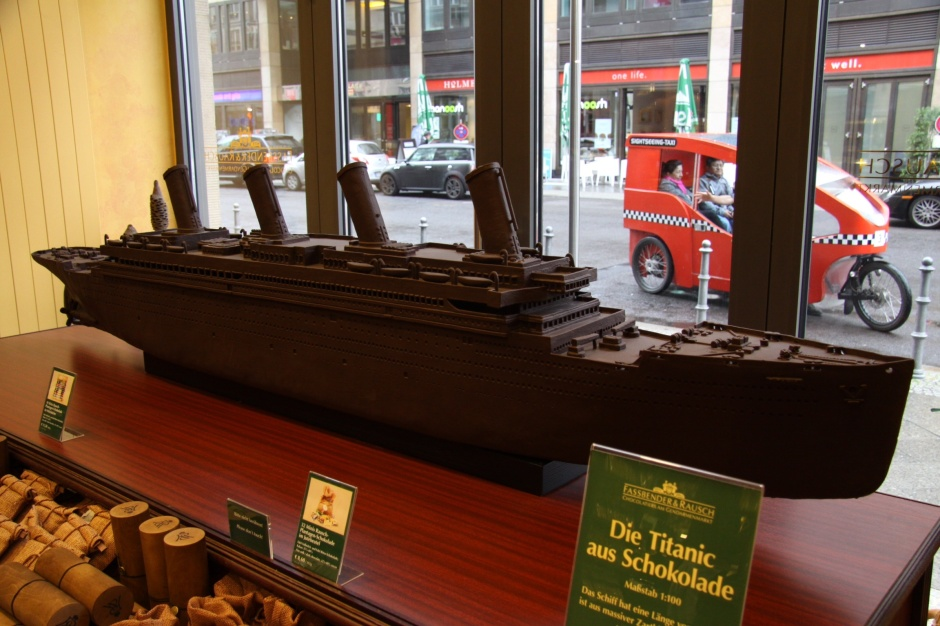 Chocolate Titanic