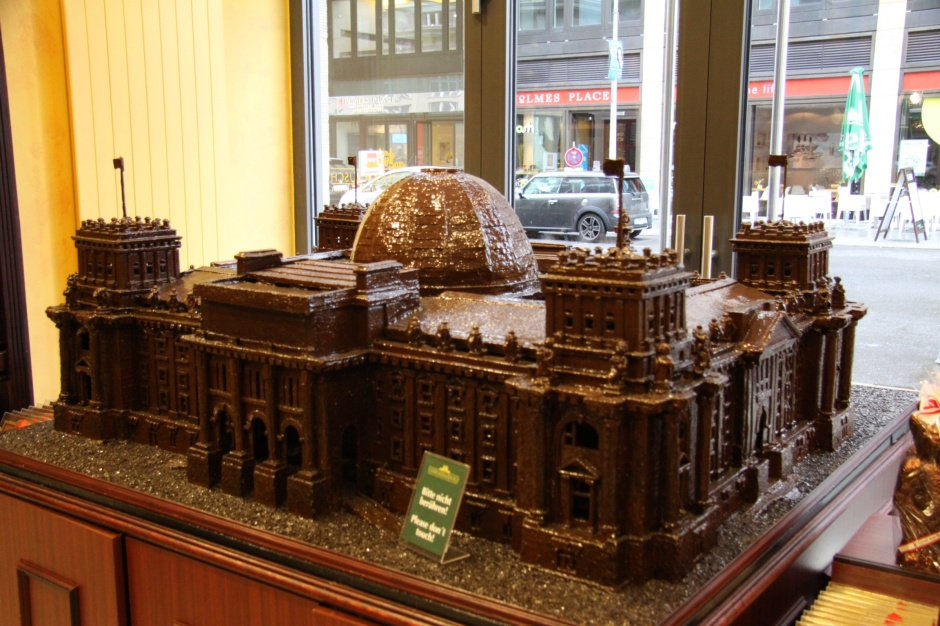 Reichstad Building in chocolate