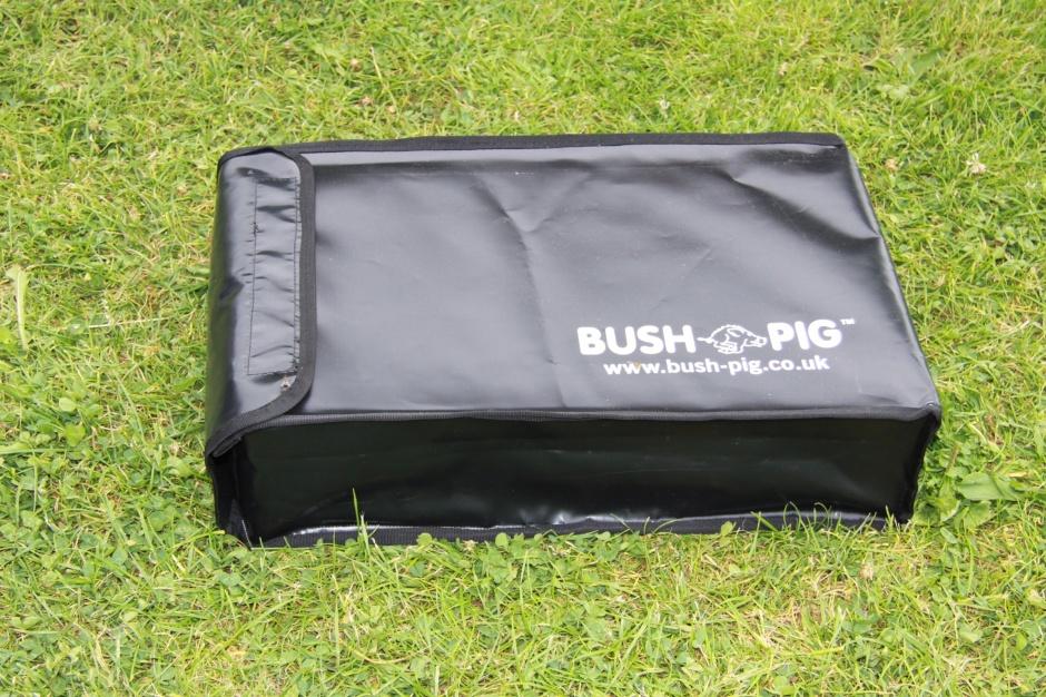 Bushpig braai inside the Bushpig cover