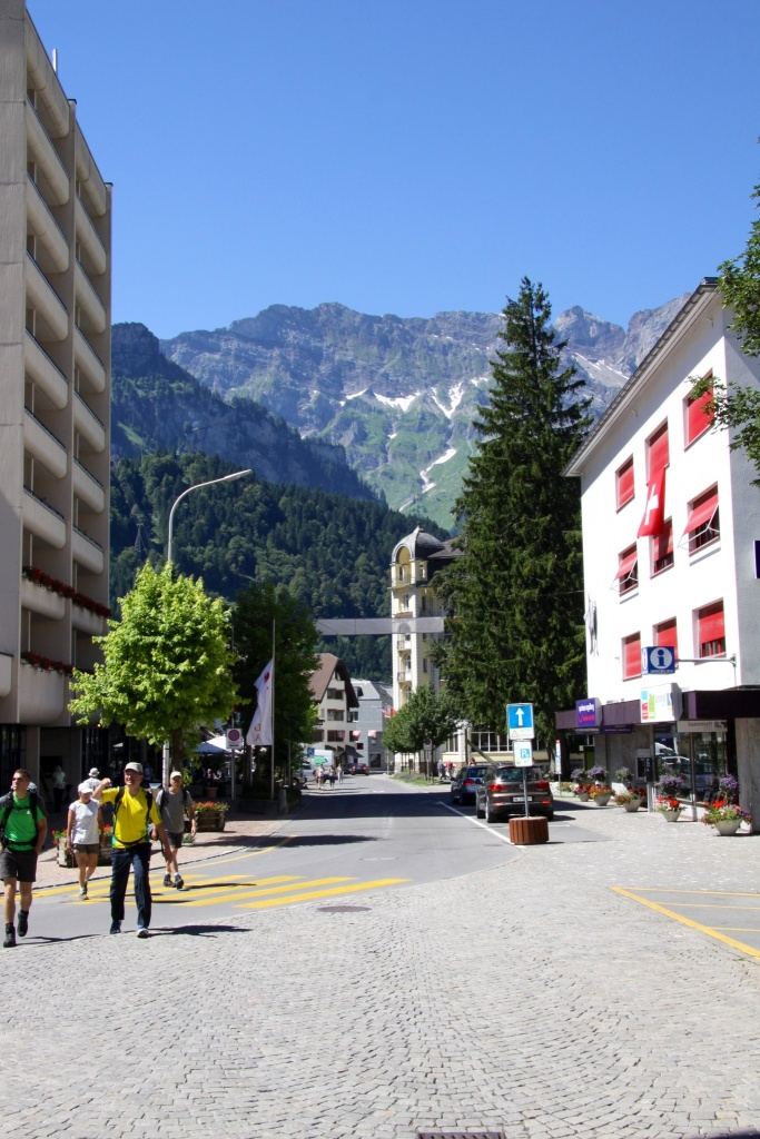 Another view from the streets of Engelberg