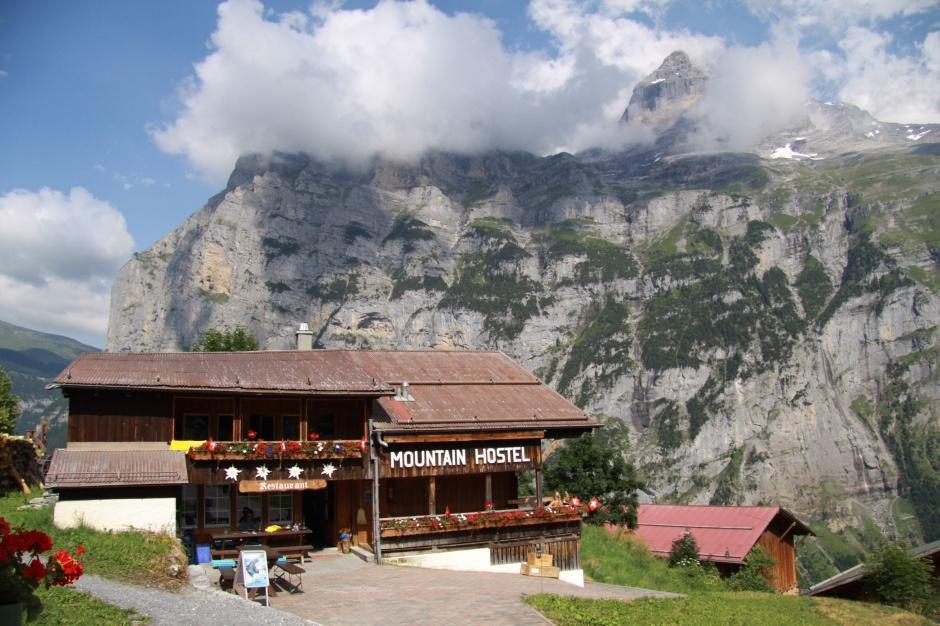 Hostel at Gimmerwald