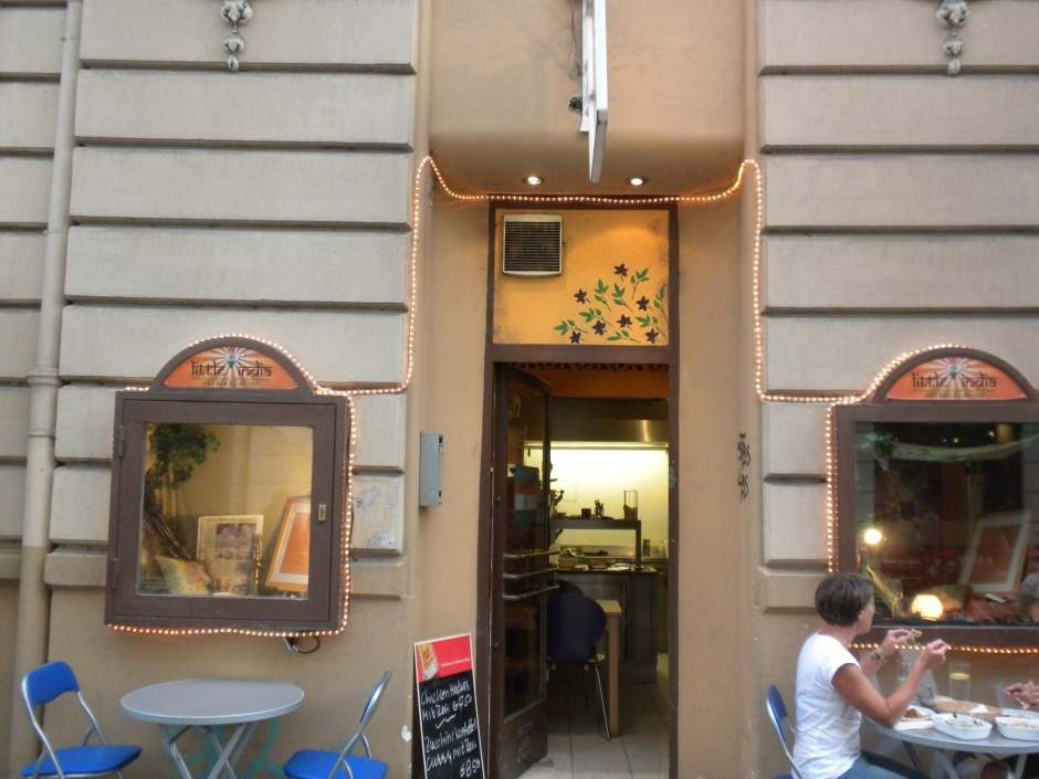 Little India restaurant, Innsbruck