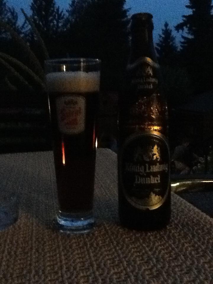 Konig Ludwig Dunkel Bier