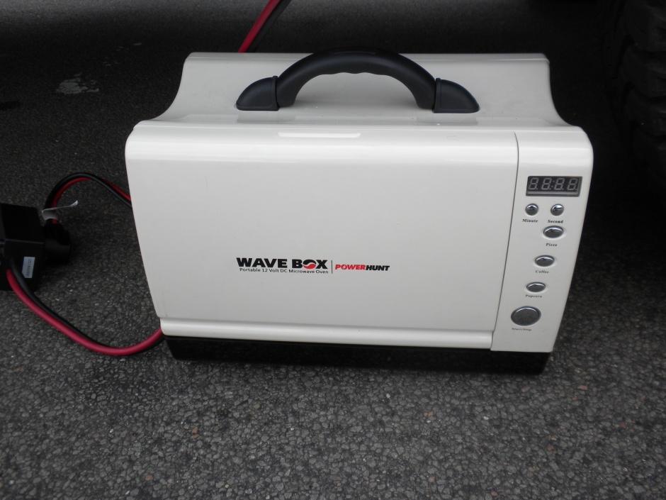 The Power Hunt Wavebox microwave