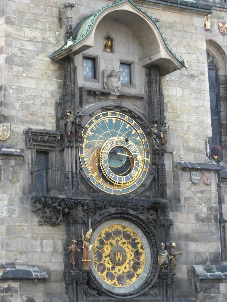 Close-up of Astronomical Clock