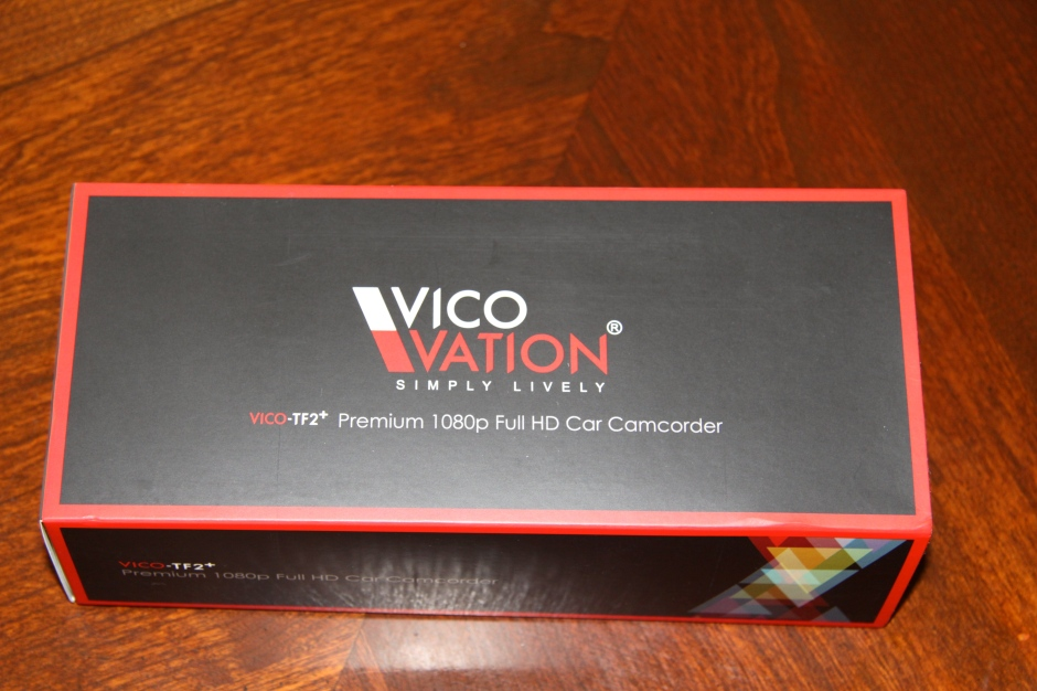 Vicovation TF2+ Premium Dashboard camera box