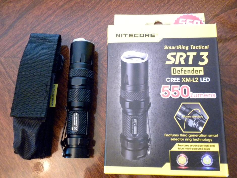 Nitecore SRT3 Defender flashlight