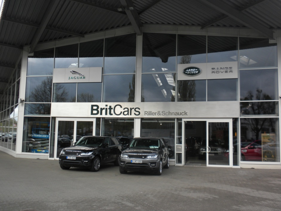 BritCar Land Rover dealer in Berlin