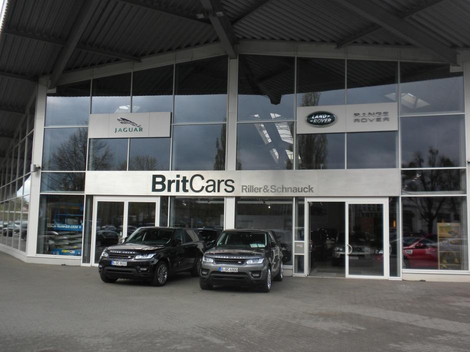 BritCar Land Rover dealer in Berlin