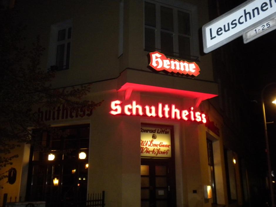 Henne restaurant in Kreuzberg, Berlin