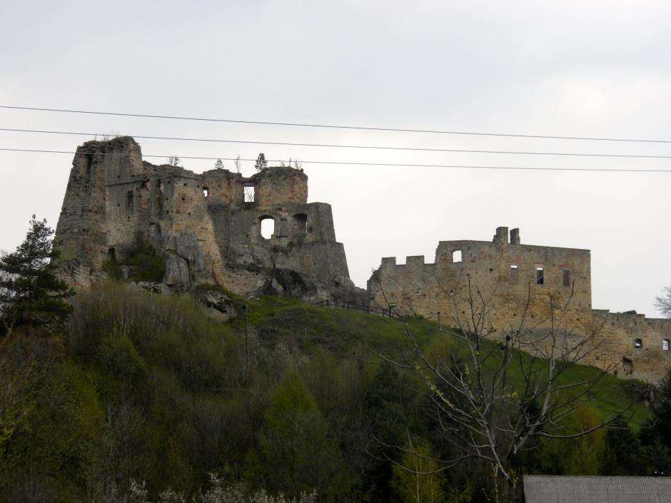 Castle ruins that we passed en-route