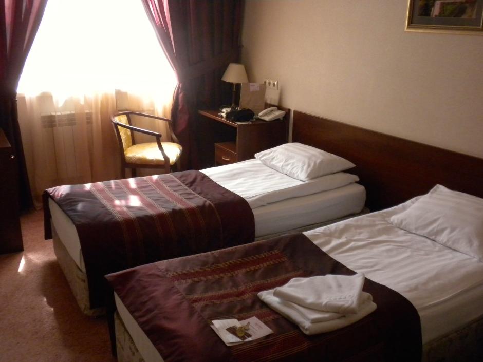 Hotel beds in Saratov
