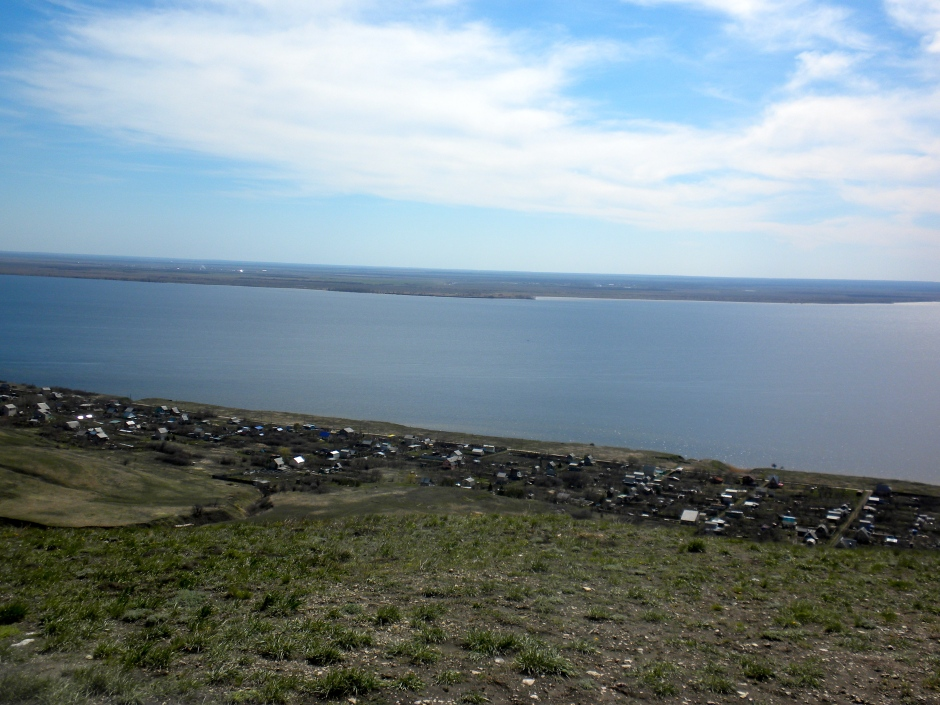 Another view of the Volga