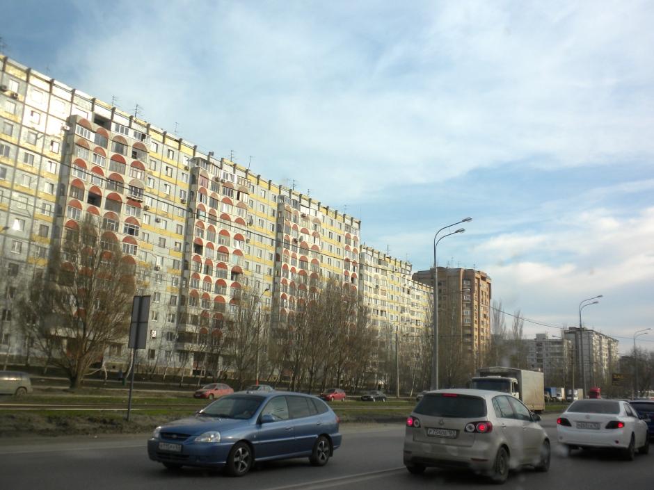 The road into Samara