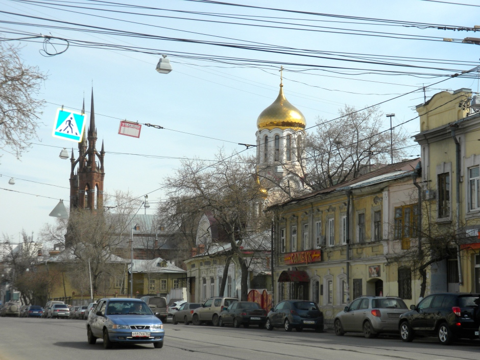 Street view in Samara