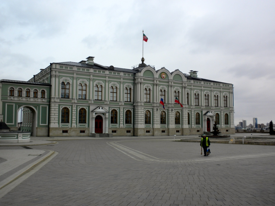 The Governor's House, inside the Kremlin. Palace of the President of Tatarstan.