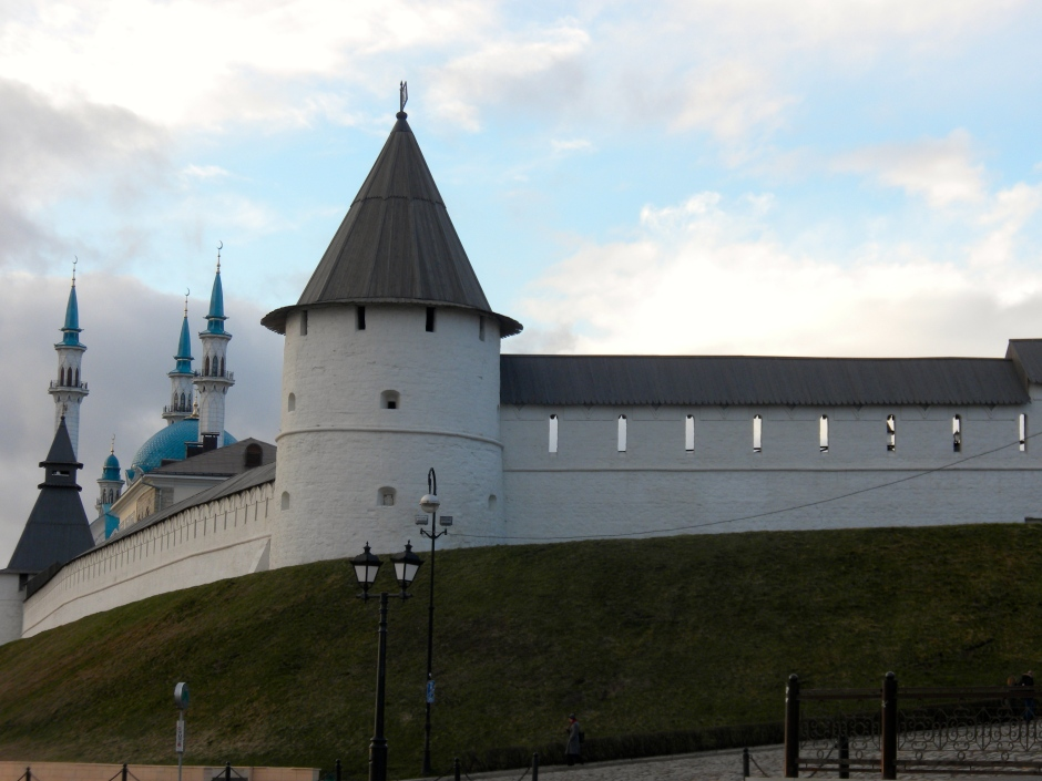 An evening pic of the Kremlin