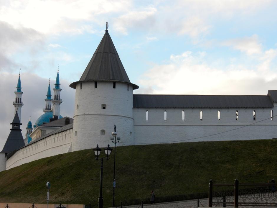 An evening pic of the Kremlin