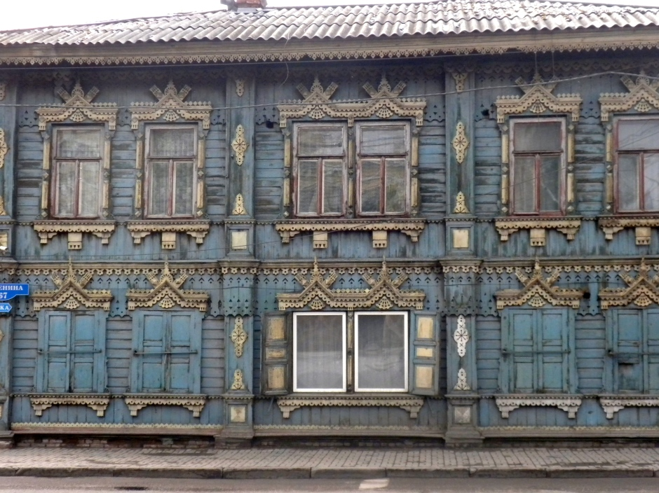 One of the wooden house highlights of the city