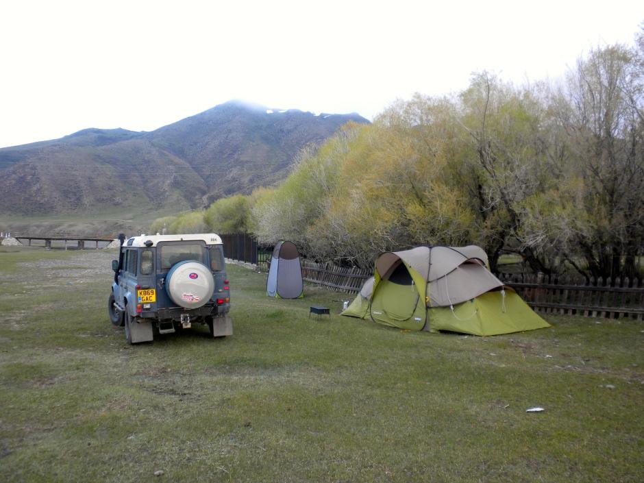 Kharkhorin camping spot