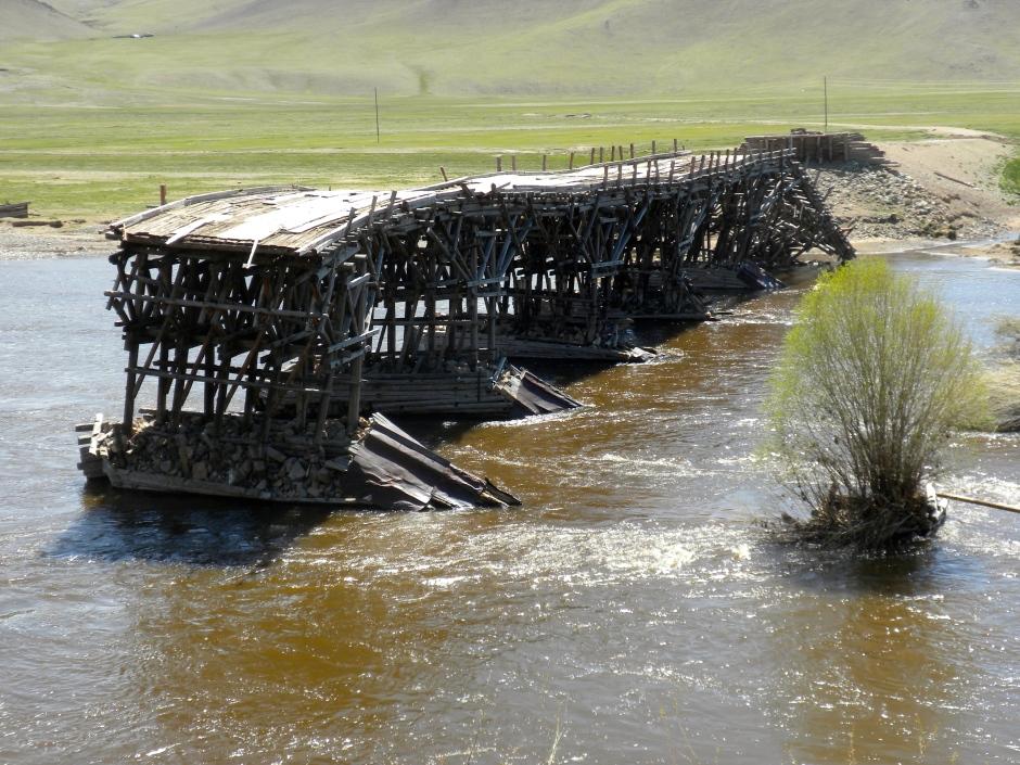 The old bridge at Jargalant