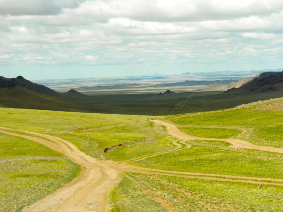 Dirt roads diverge