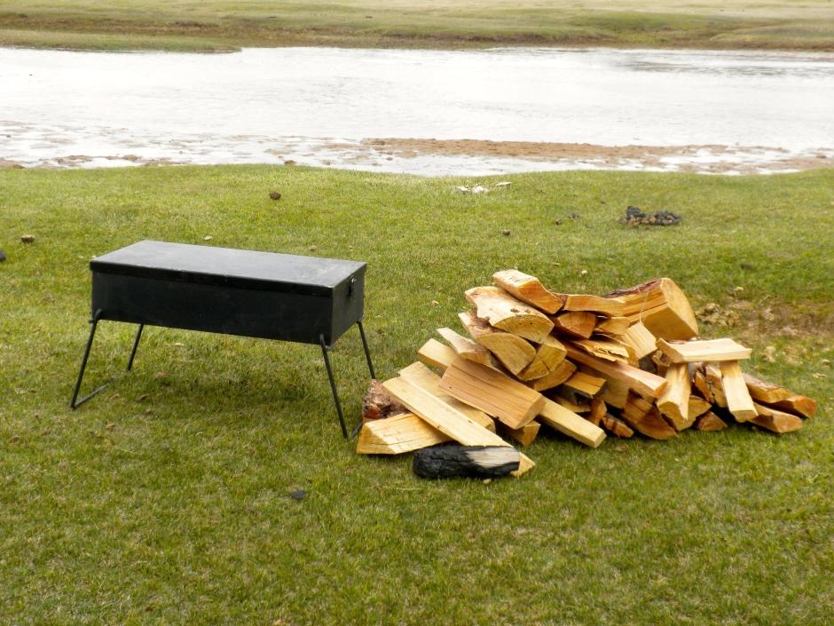 Free firewood to fuel the Bush Pig braai
