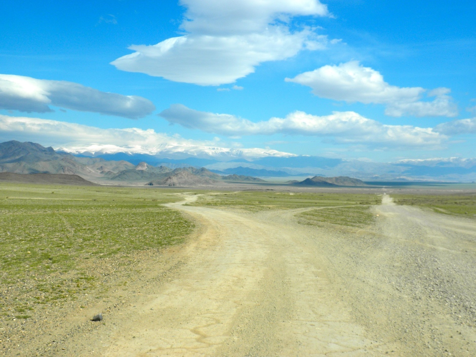 I'll miss the dirt roads of Mongolia