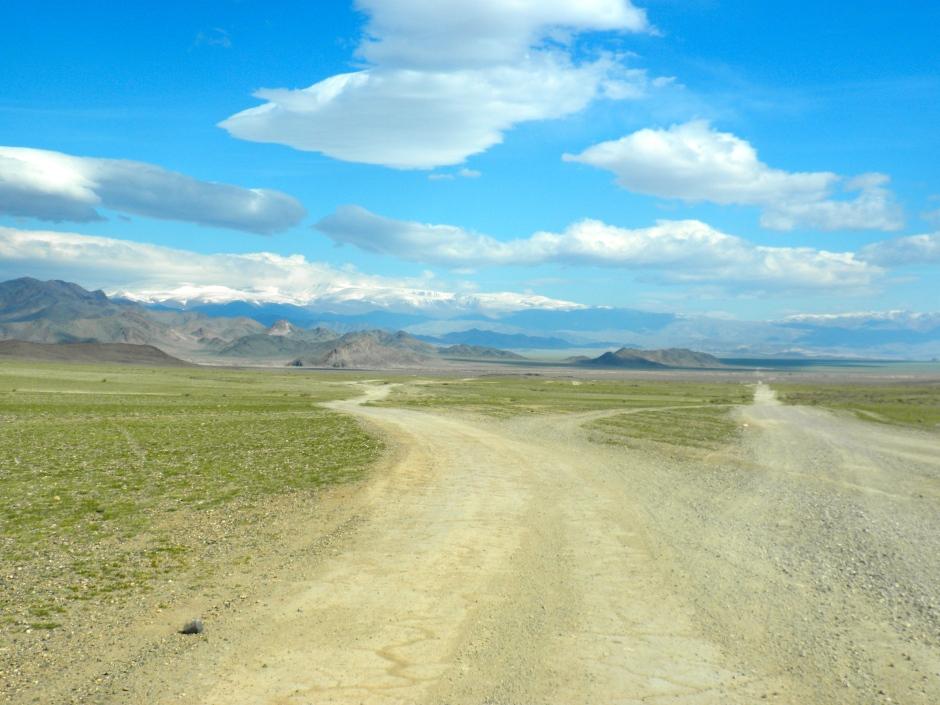 I'll miss the dirt roads of Mongolia
