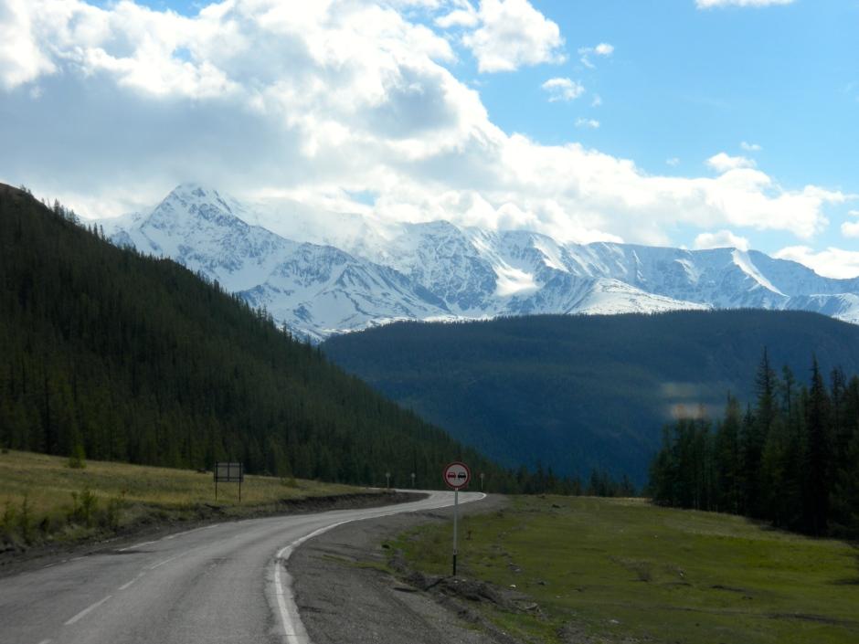 Beautiful driving scenery