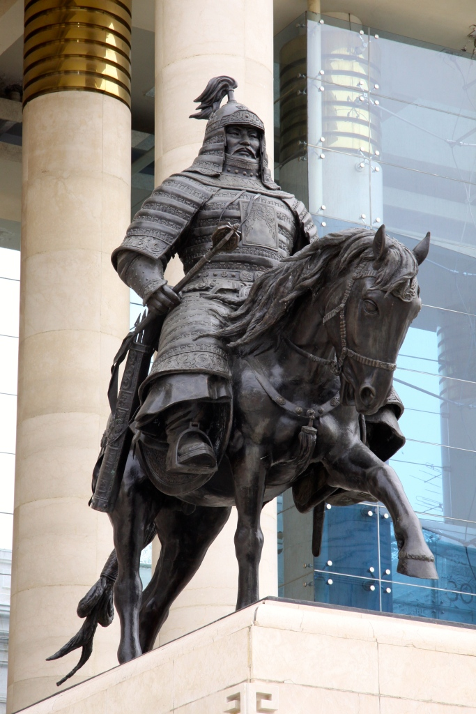 Famed Mongol warrior Kublai guards the eastern flank
