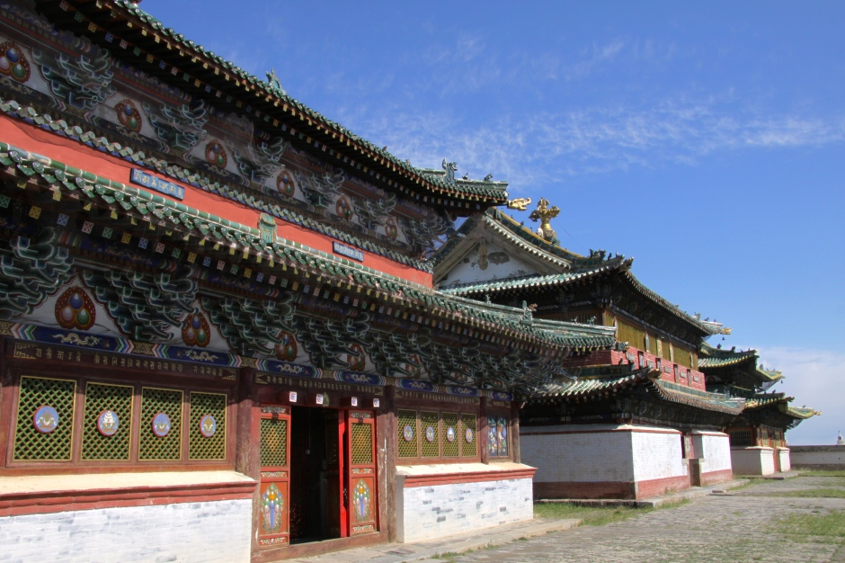 Three of the temples