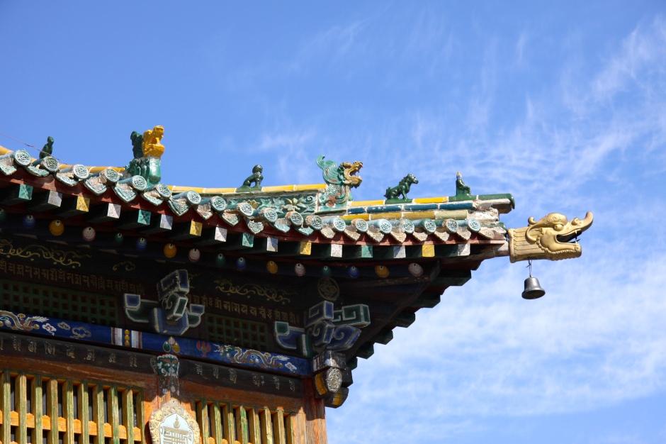 Decorative roof