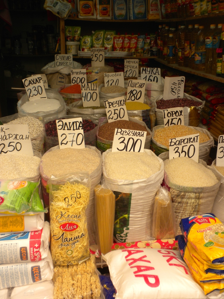 Rice and other grains for sale