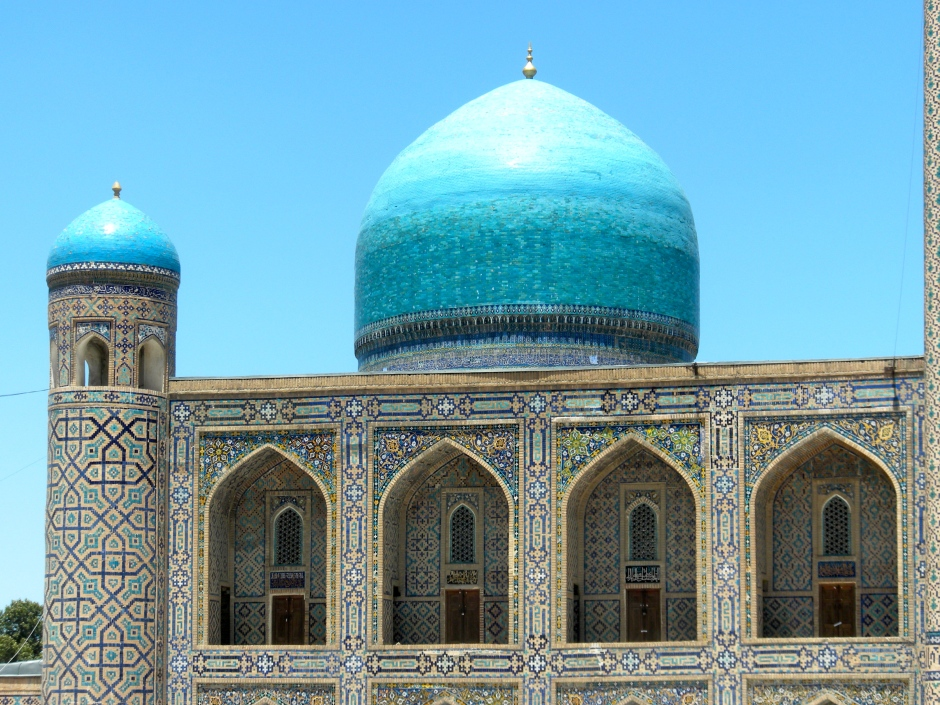A parting photo of the Registan