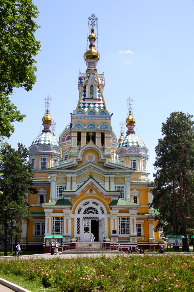 The Ascension Cathedral, Almaty