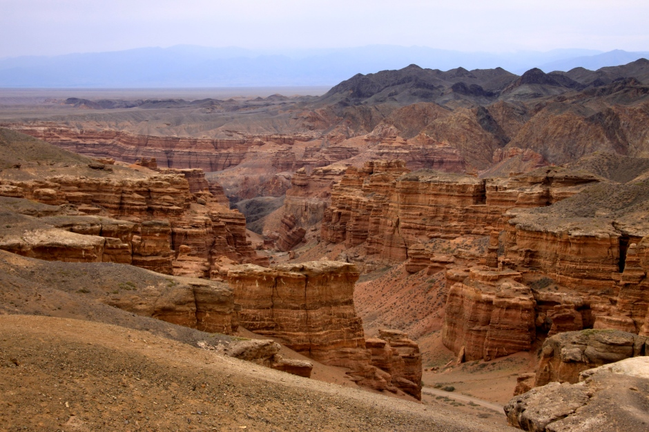 Another view from the rim of the canyon