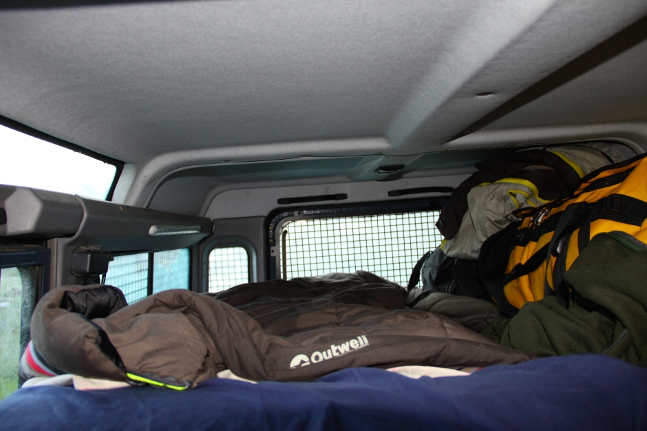 Close quarters - but space for a good night's sleep