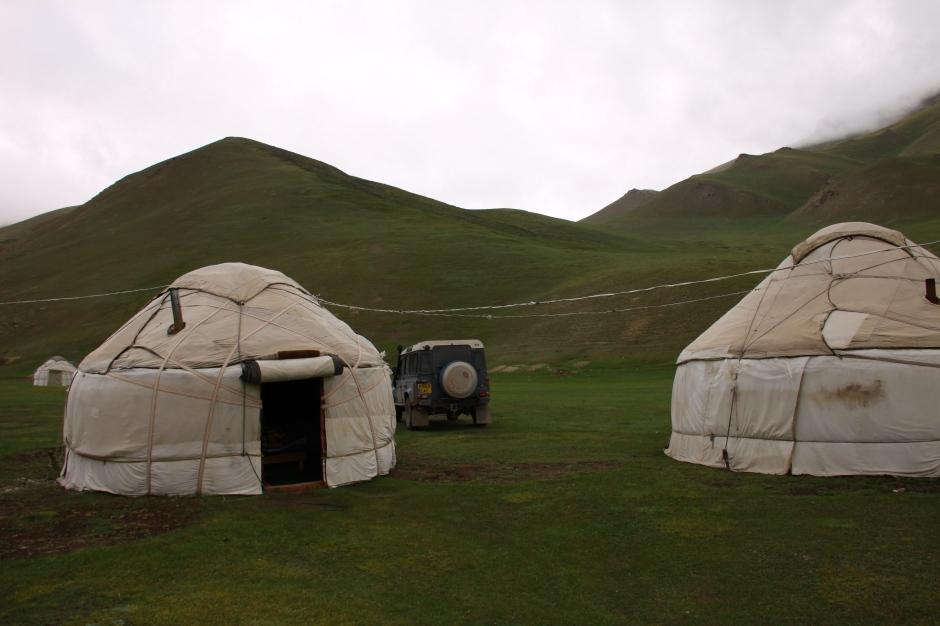 My yurt for the night