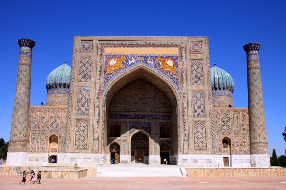 Madrasah at the Registan