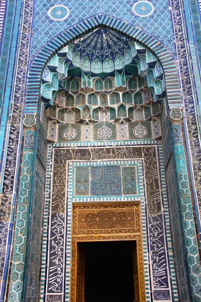A mausoleum at Shah-i-Zinda