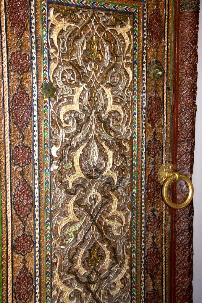 Decorative door on a mosque