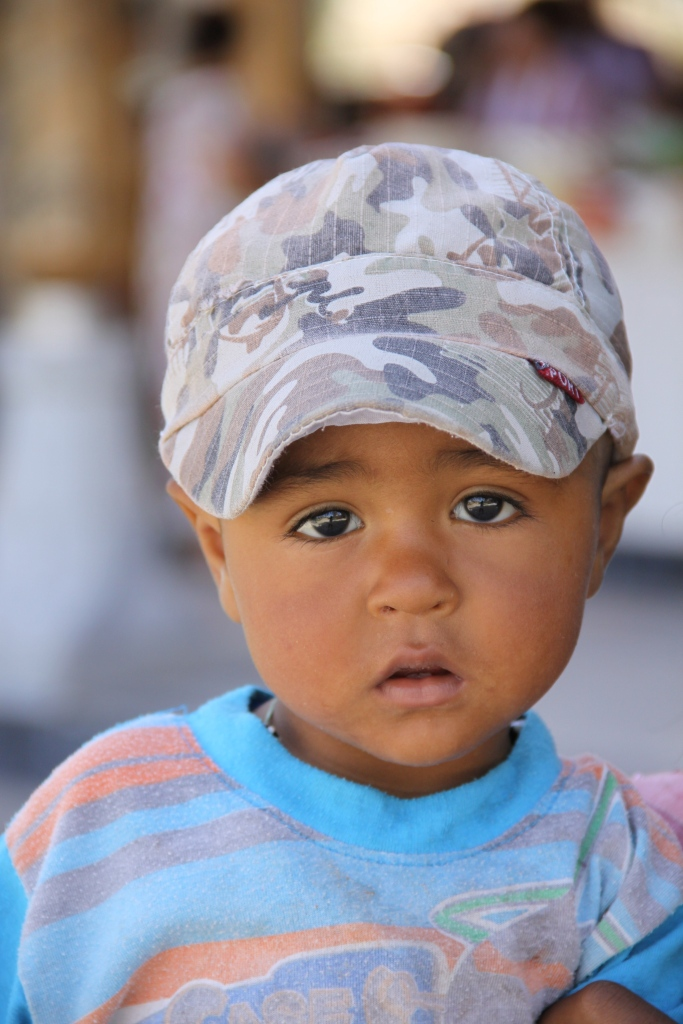 A woman invited me to photograph her son - then asked for money to feed him!